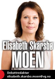 Elisabeth Skarsbø Moen kommenterer