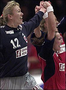 Håndball norge kvinner tabell