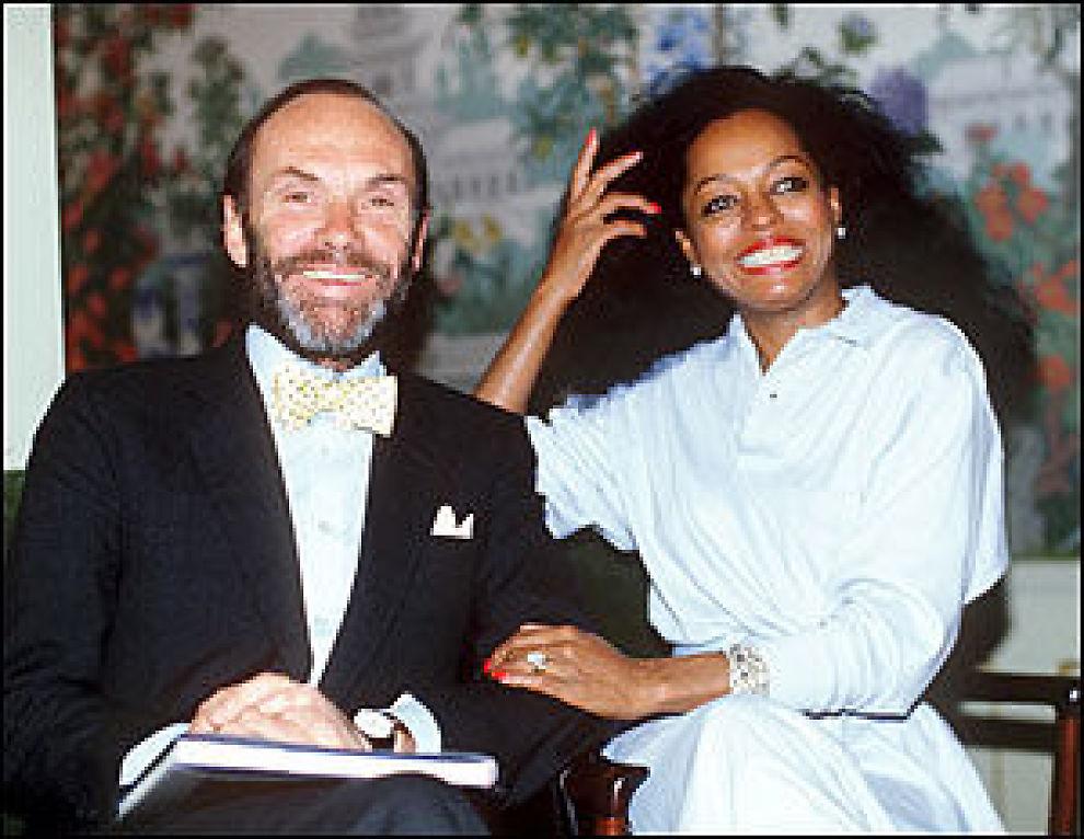 Image result for Diana Ross & Husband: Arne Naess Jr.