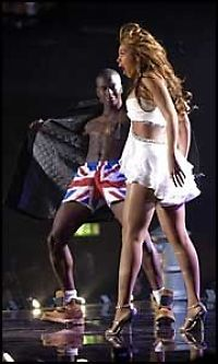 «Blottet seg» for Beyonce