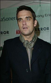 I STORFORM: Robbie Williams, her avbildet under fjorårets Nordic Music Awards, stjal showet hos Skavlan. Foto: Espen S. Hoen