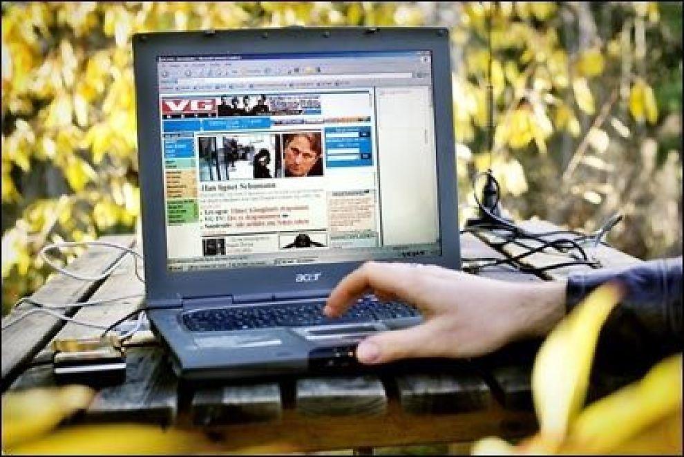 DATATRØBBEL: Du er ikke alene om å ha datatrøbbel. Uansett om du har stasjonær PC eller bærbar PC (som på bildet), vil du måtte vedlikeholde den etter hvert som den blir eldre. Foto: VG