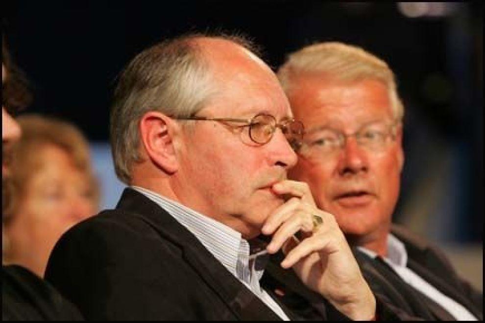 TAR IGJEN: Partisektretær Martin Kolberg (Ap) mener Carl I. Hagen og Frp rir to hester i den politiske debatten. Foto: SCANPIX