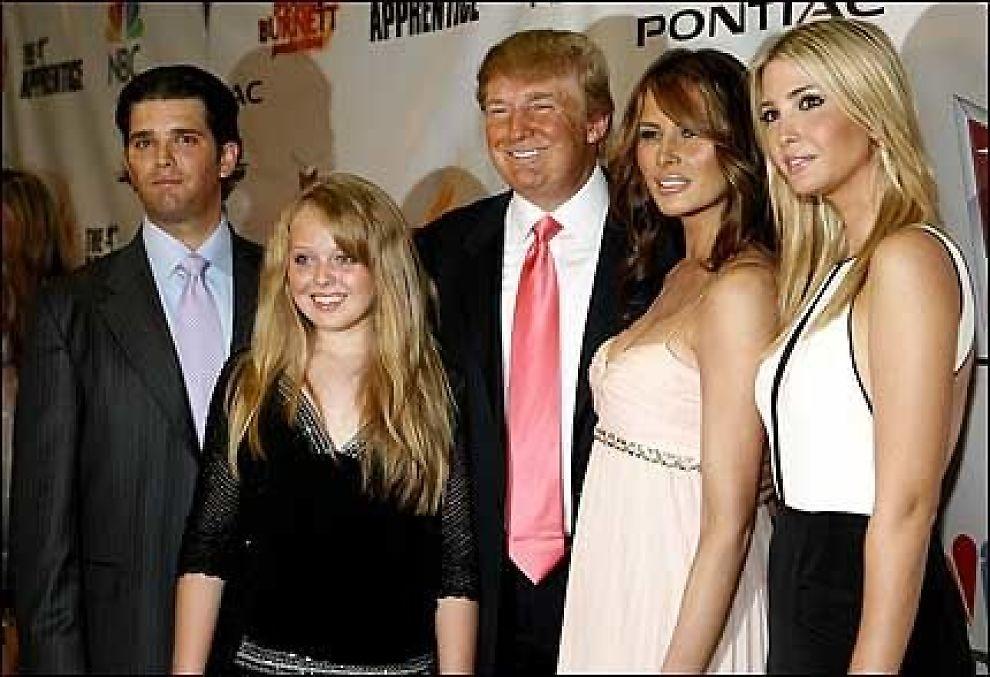 Trump feiret med familien reality tv vg for Cracco biografia