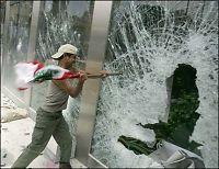 Demonstranter stormet FN-kontor i Beirut