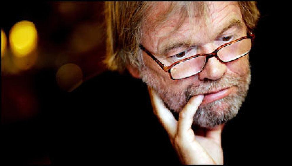 KONTROVERSIELL: Jostein Gaarder har måttet tåle hard kritikk etter sin kronikk om Israel. Nå blir han også kalt «alvorlig syk». Foto: Stian Lysberg Solum