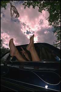 ANVENDELIG: En tidligere undersøkelse viste at eiere av Volvo har hyppigst sex i bilen. Foto: KARIN BEATE NØSTERUD