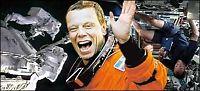 Norsk-svensk astronaut på vei ut i rommet