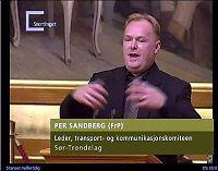 - Uheldig signal fra Sandberg