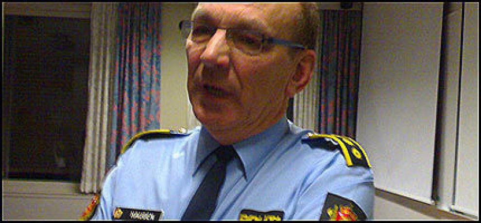 VIL PÅVIRKE: Lensmann Thor Haugen i Ringsaker tror drapssaken vil påvirke mange. Foto: JOSTEIN MATRE