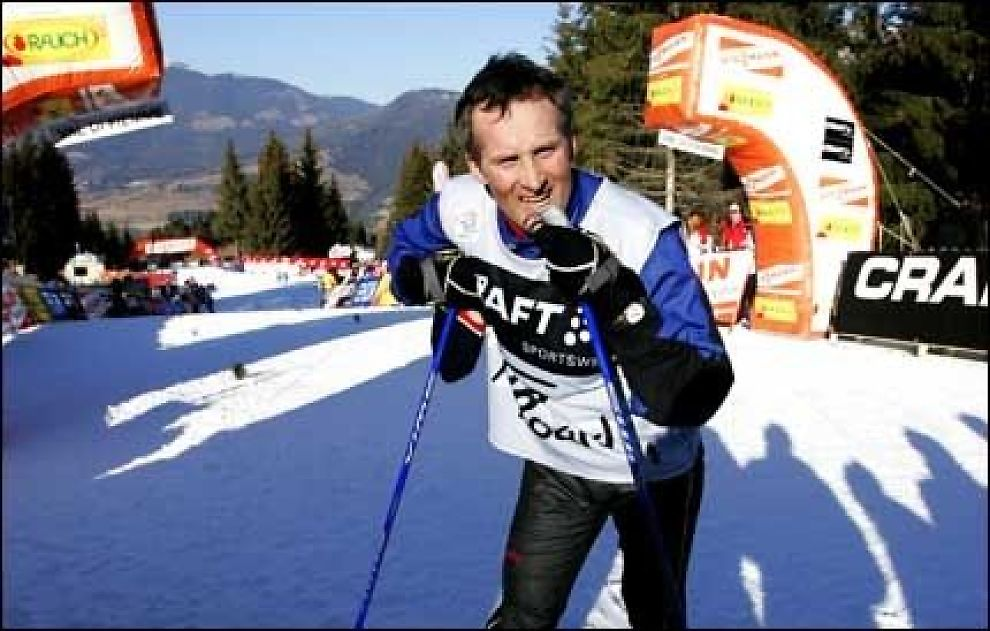 ARKITEKT: Vegard Ulvang er arkitekten bak Tour de Ski, og er fornøyd med gjennomføringen av konkurransen. Foto: Scanpix