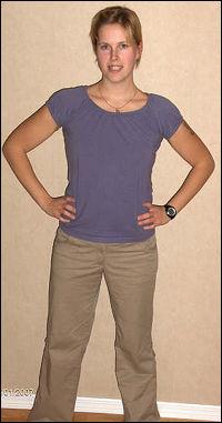 Vibeke var i dårlig form før hun bestemte seg for å begynne å trene og spise sunt. Slik ser hun ut, etter å ha tatt av hele 37 kilo. Foto: Privat
