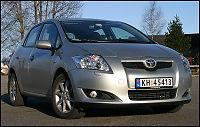 Biltest: Auris flyter på erfaringen
