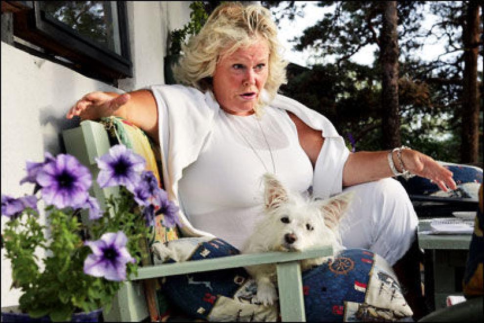 DØMT TIL FENGSEL: Bente Lyon. Foto: Frode Hansen/VG