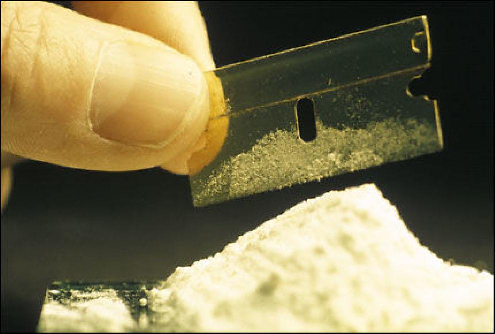 STORT FORBRUK: Forskere har beregnet at Oslo-beboere bruker omlag 350 kilo kokain i året. Foto: per Fronth Nygaard