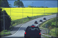 Tryggest med bilferie i Norge