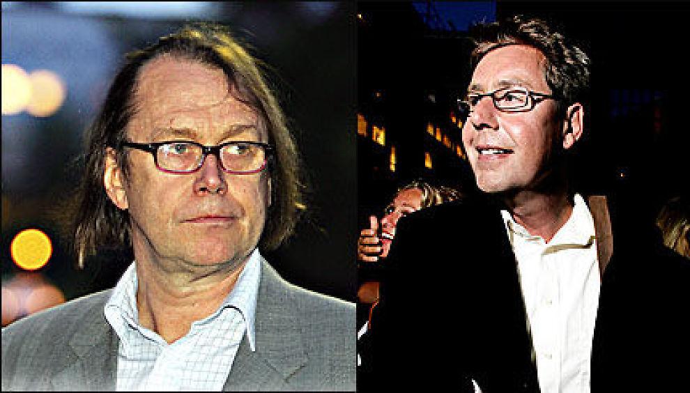 NOMINERTE OTTO: Øystein Meier Johannessen (t.v.) har satt opp Otto Jespersen på Samfunsspartiets liste i Oslo. Foto: Knut Erik Knudsen/Linn C. Olsen