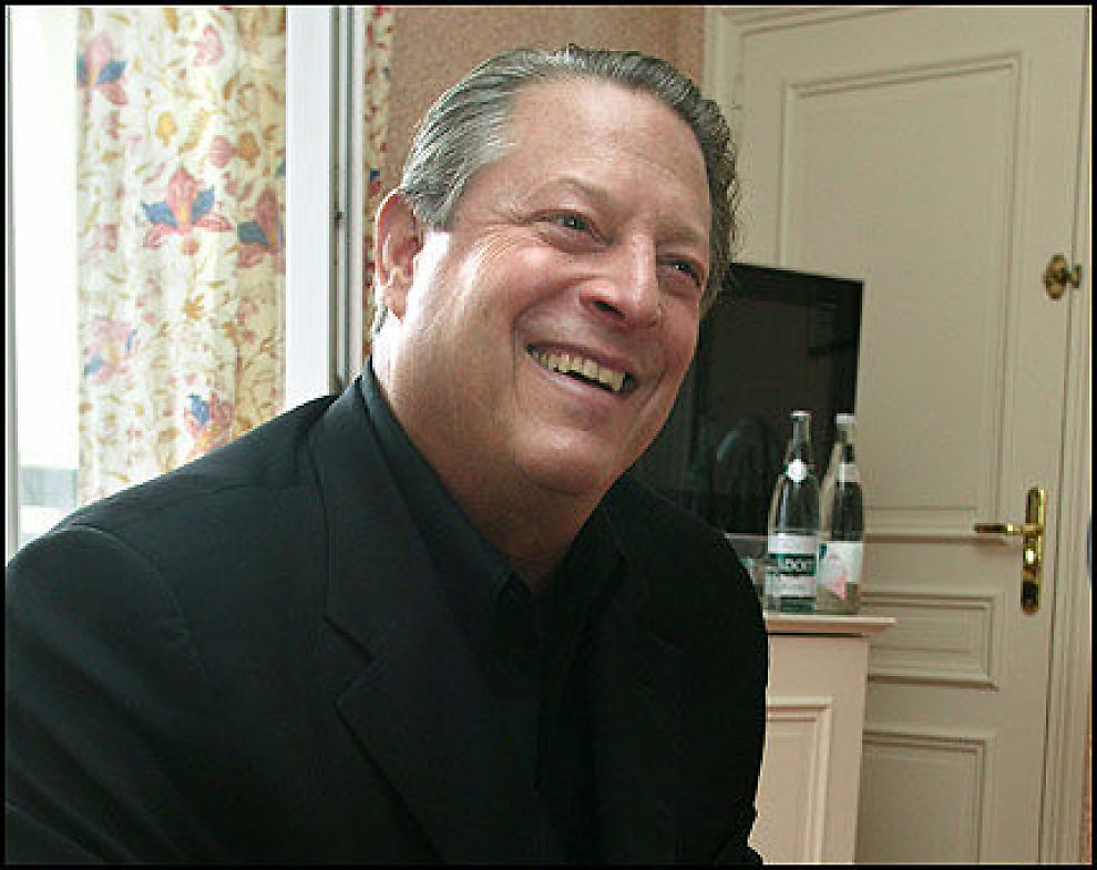 TIL VALG?: Al Gore oppfordres nå til å stille som demokratisk presidentkandidat. Foto: AFP Foto: Kristoffer Sandberg/VG Foto: