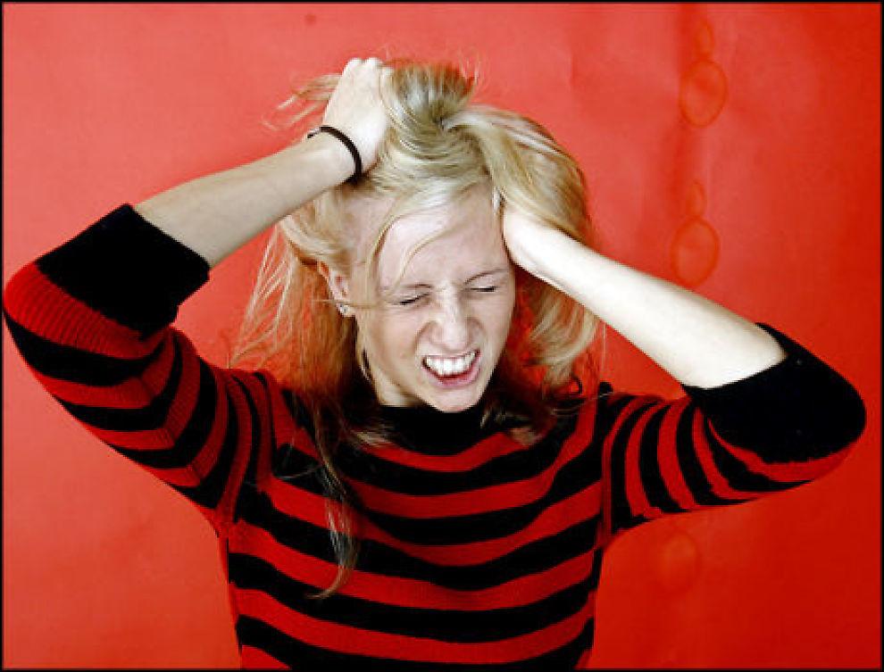 FARLIGE STOFFER: Hårfarge kan gi uønskede virkninger, ifølge en ny norsk test. Foto: Sara Johannessen/SCANPIX