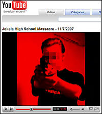 Varslet skolemassakre på YouTube