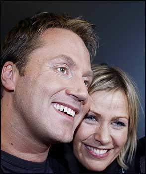 VINNERGLISET: Glenn sammen med sin kjære Berit Elin. Foto: Scanpix