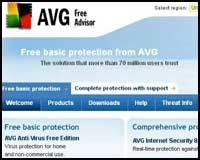 AVG Anti-Virus Free Edition.