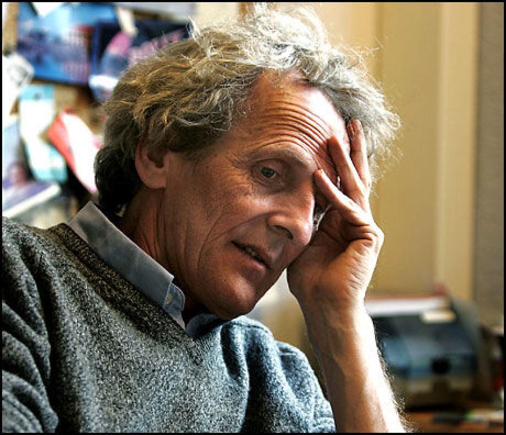 KRITISK: Leder av Norsk PEN Anders Heger syns det er problematisk at politiske hensyn kom i veien for atom-varsler Mordechai Vanunus asylsøknad. Foto: VG