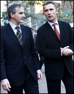TAUSE: Verken statsminister Jens Stoltenberg (Ap) eller utenriksminister Jonas Gahr Støre (Ap) har villet kommentere egne eller offisielle norske vurderinger av Vanunus situasjon. Foto: Scanpix