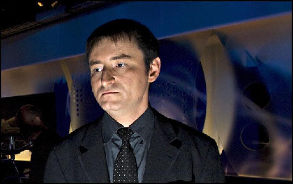 UENIG: Matthias Fosse i Scientologikirken er uenig i at deres personlighetstest drev Kaja B. Ballo til selvmord. Foto: ROBERT S. EIK
