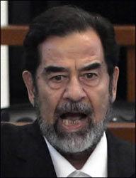 HENRETTET: Iraks tidligere diktator, Saddam Hussein. Foto: AFP