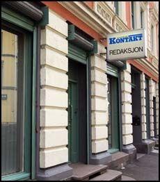 STAYER: Annonsebladet Kontakt har kontorer på Grünerløkka i Oslo. Foto: FRODE HANSEN