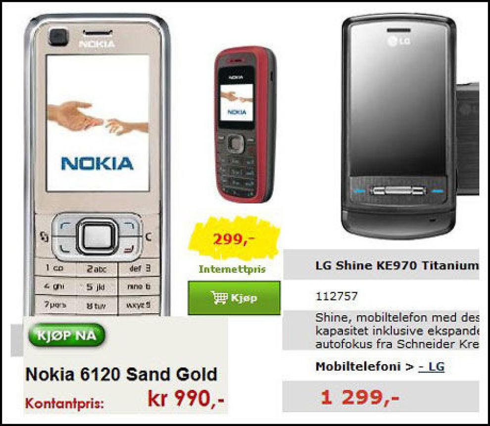 mobil kontaktannonser på nett