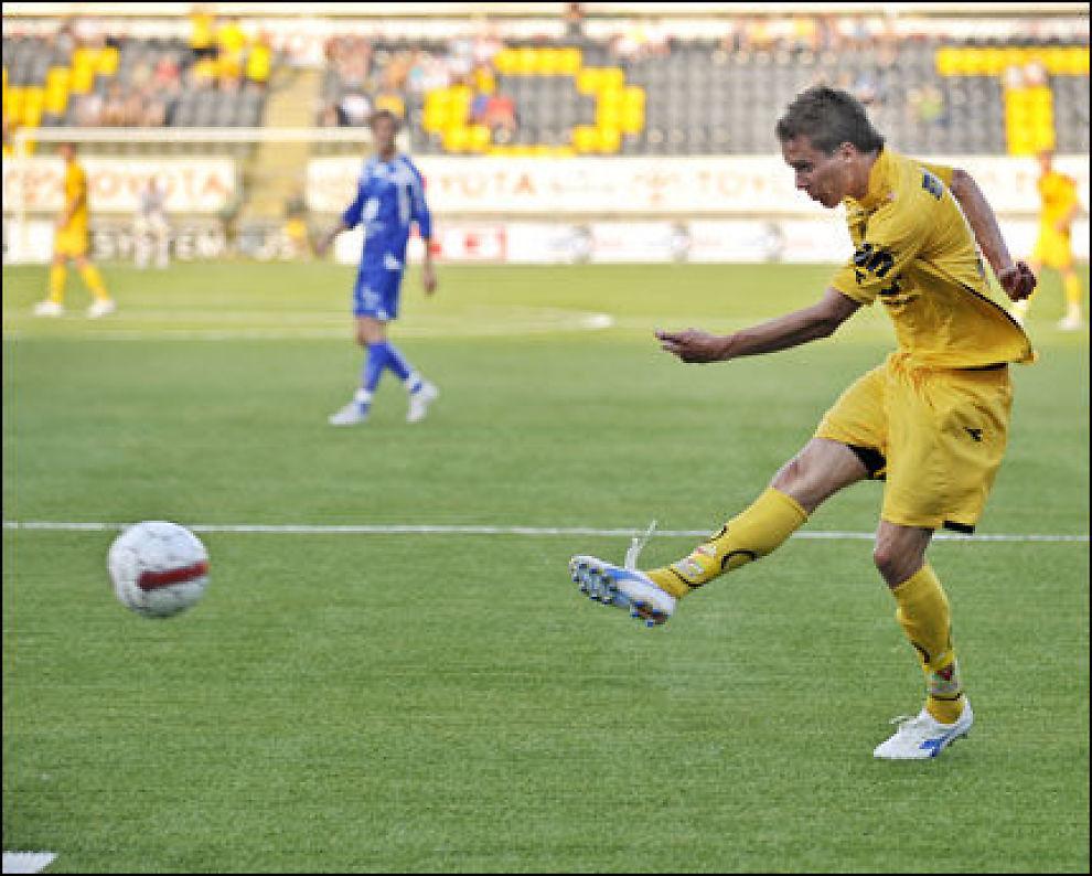 ITALIA-AKTUELL: Anders Ågnes Konradsen (18) skal ha tiltrukket seg oppmerksomheten til italienske Sampdoria. Foto: Scanpix