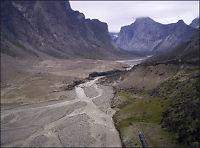 Nasjonalpark smeltet bort i Canada