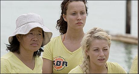 VILLE HJEM: Anne Møller (t.v.) trivdes svært dårlig på Robinson-øya. Foto: TV3