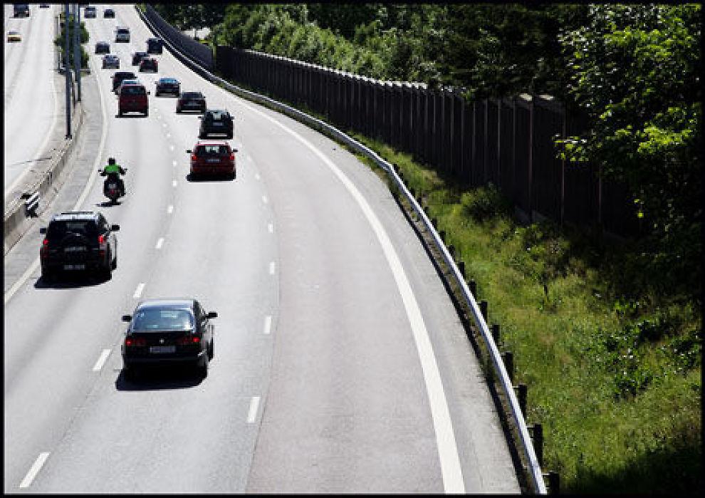 SATSER: Regjeringen vil få fart på veiutbyggingen i Norge. Foto: VG