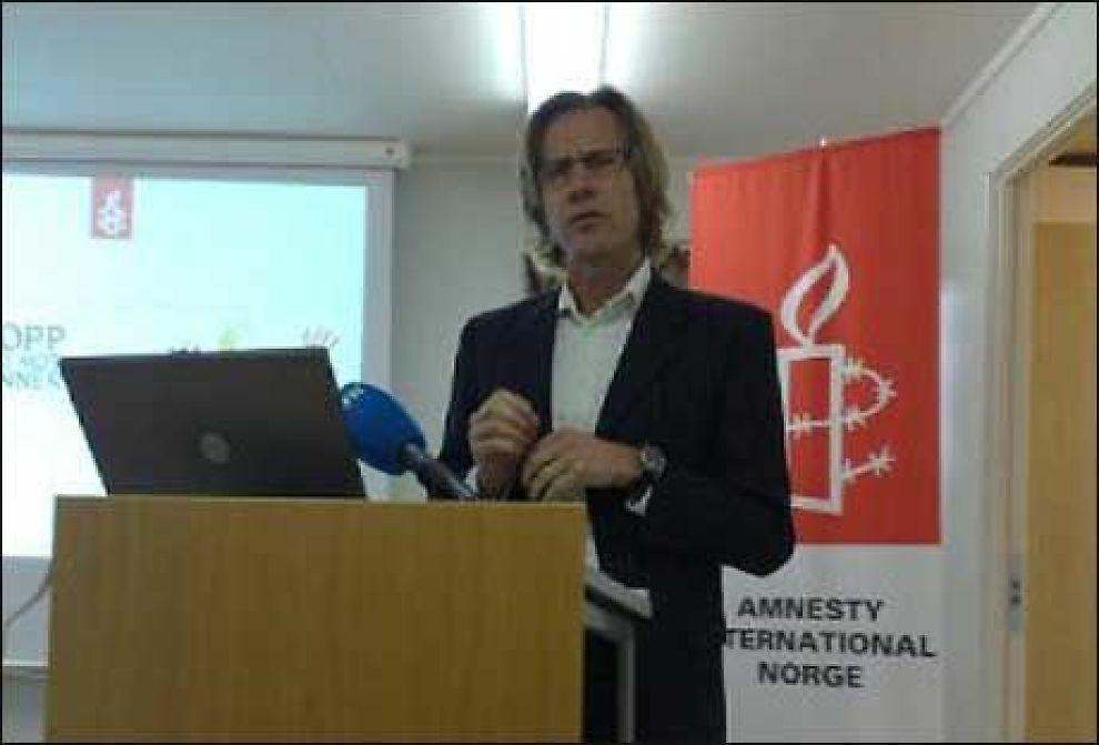 KAN VÆRE MØRKETALL: - Ingen kjenner til omfanget av vold mot kvinner i asylmottak i Norge, sier Amnesty Internationals generalsekretær Jon Peder Egen's til VG Nett. Foto: Lars Akerhaug