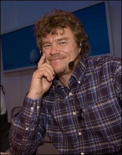 SØT MUSIKK: Lars Monsen har funnet lykken med Trine Rein. Foto: SCANPIX
