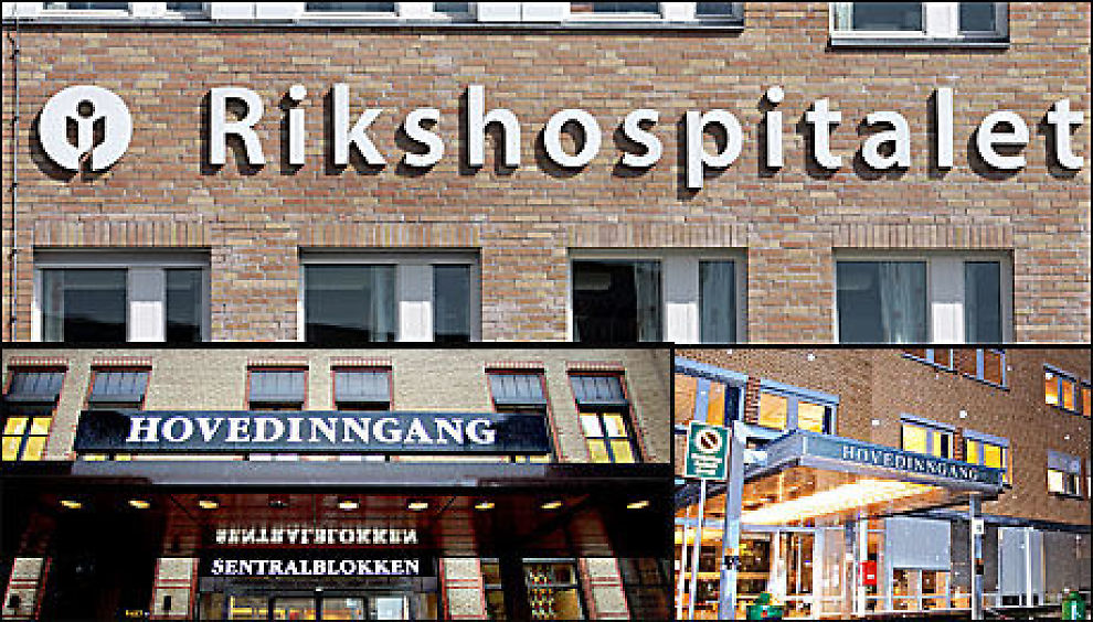 KAN BLI ETT: Rikshospitalet, Ullevål og Aker sykehus kan nå bli ett stort sykehus: Oslo universitetssykehus HF. Foto: VG/Scanpix