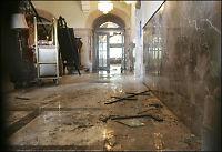 Slik ser det ut på innsiden av dødens hotell
