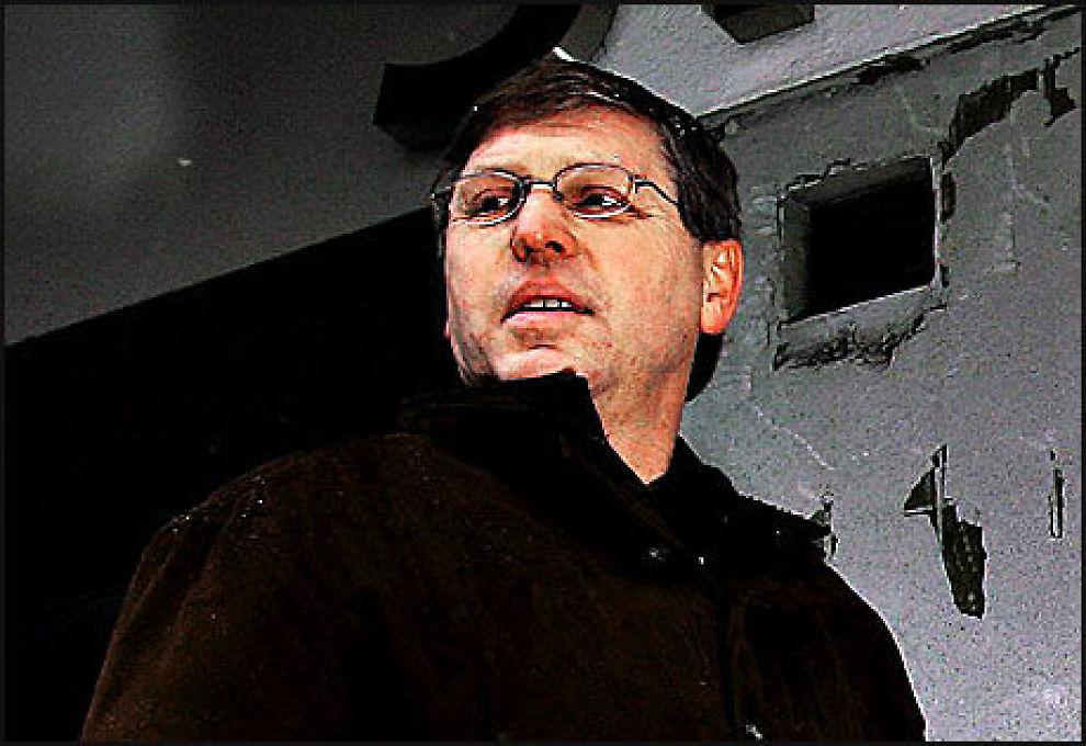 SKEPTISK: Direktør i Blå Kors, Magnar Lie, er svært skeptisk til det å vurdere gratis heroin til tunbge rusmisbrukere. Foto: Hege Johnsen/VG