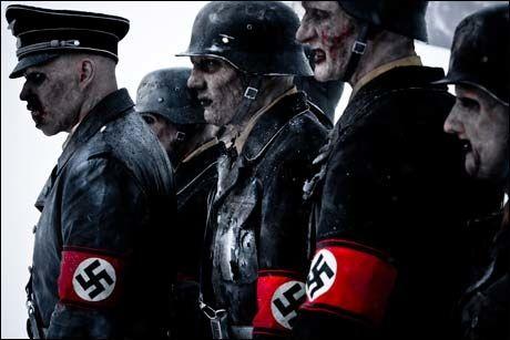 """NAZI-ZOMBIENE ER LØS!: Bilde fra """"Død Snø"""". Foto: Euforia Film"""