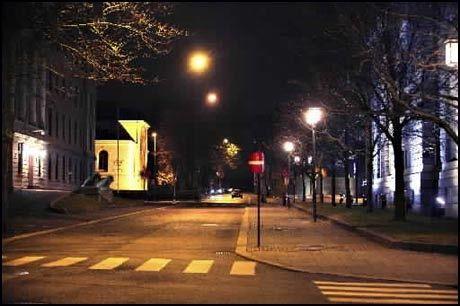 TOMME GATER: Politiets innsats for å ta kundene har gitt resultater. I Oslo er sexgatene nærmest tømt. Foto: Magnar Kirkenes