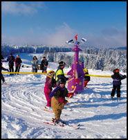 SKI-KARUSELL: Hovden skisenter har kjøpt en slik skikarusell. Den blir montert i Tusseland i løpet av kort tid. Foto: SUNKID