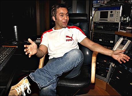 INGEN LØSNING: Musikkprodusent David Eriksen tror ikke løsningen på fildelingsproblemet er å gå til sak mot nettsider som Pirate Bay. Foto: Janne Møller-Hansen