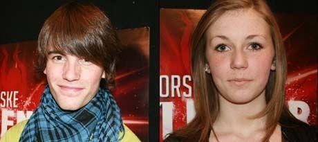 ... Lydia Hoen Tjore (14) gikk begge videre i Norkse talenter. Foto: TV2