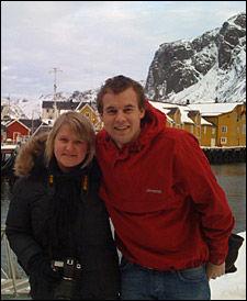 OLJE-NEI: Unge Venstre-leder Anne Solsvik og KrFU-leder Kjell Inge Ropstad tror Høyre vil la seg overbevise til olje-nei i eventuelle regjeringsforhandlinger om en ny borgerlig regjering. Foto: Privat