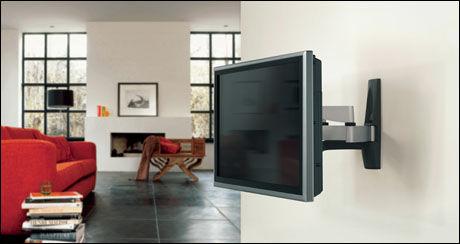 Tv på veggen