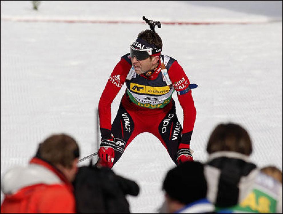 HAR MOTTATT TRUSLER: Ole Einar Bjørndalen hisset på seg en del russere under VM i Sør-Korea. Foto: Scanpix