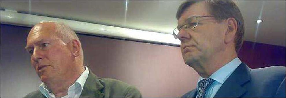 FORNØYD: LO-leder Roar Flåthen (bildet) var fornøyd med lønnsoppgjøret, men Lo-leder i Oslo, Kleiv Fiskvik er opprørt over at Flåthen gikk med på avtalen med NHO. Foto: Sven A. Buggeland